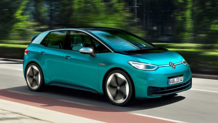 Volkswagen ID.3 is the first Volkswagen electric car built from scratch.