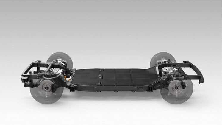 """Canoo has an exclusive """"skateboard"""" chassis structure"""
