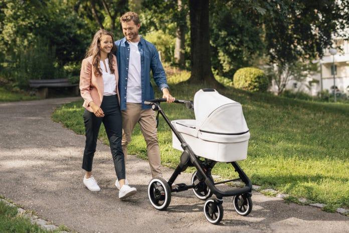 Bosch e-stroller system revolutionizes comfort and safety. Image Credit: Bosch
