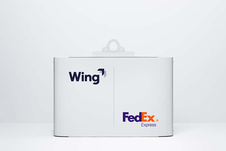 Packages Wing will be delivering as part of the trial