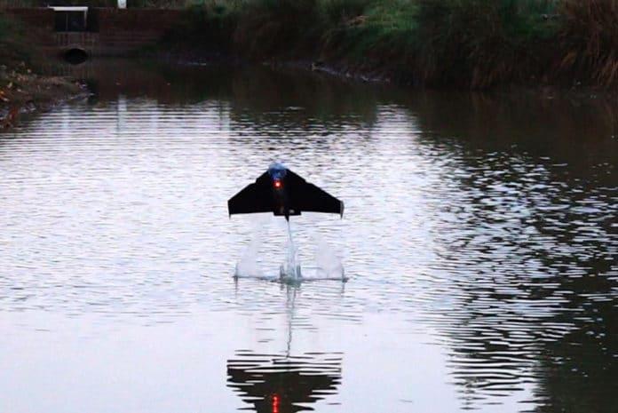 'Flying fish' robot