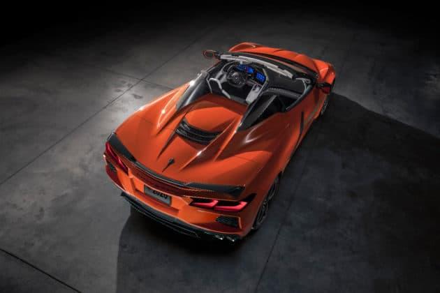 2020 Chevrolet Corvette Stingray convertible
