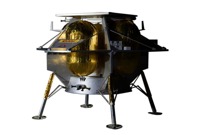 The Astrobotic Peregrine lander will carry the Walking Rover to the moon.