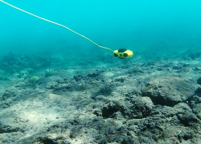 It can be used for marine research, underwater photography and videography.