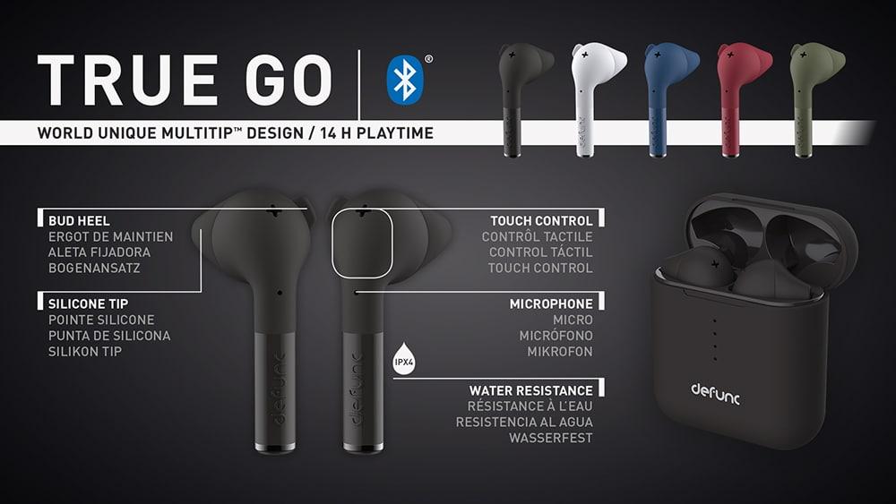 TRUE GO key features