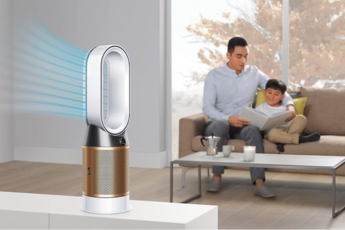 Dyson Pure Cryptomic is able to eliminate the presence of formaldehyde in the home. Credit: Dyson