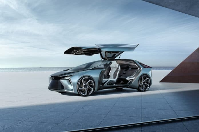 'LF-30 Electrified' new concept embodies the vision of Lexus' electrification.