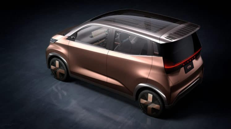 Chic design meets Nissan Intelligent Mobility in a zero-emission car fit for the city
