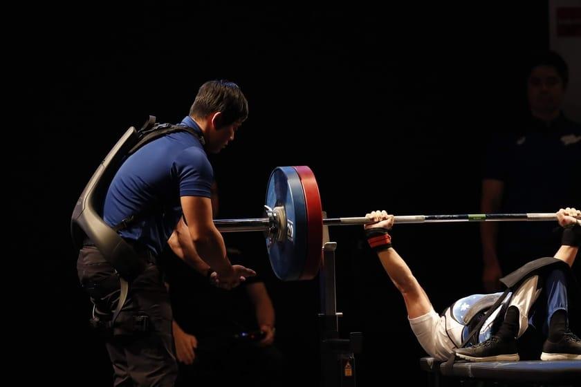 World Powerlifting Federation uses Panasonic exoskeletons