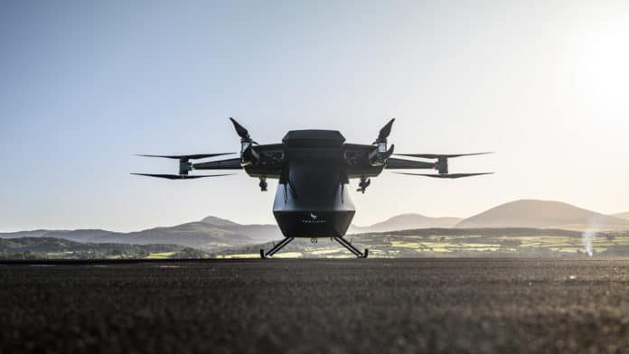Electric flying taxi, Seraph.