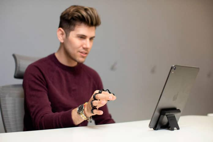 Tap Strap 2, a wearable keyboard to control any Bluetooth-connected device with gesture.