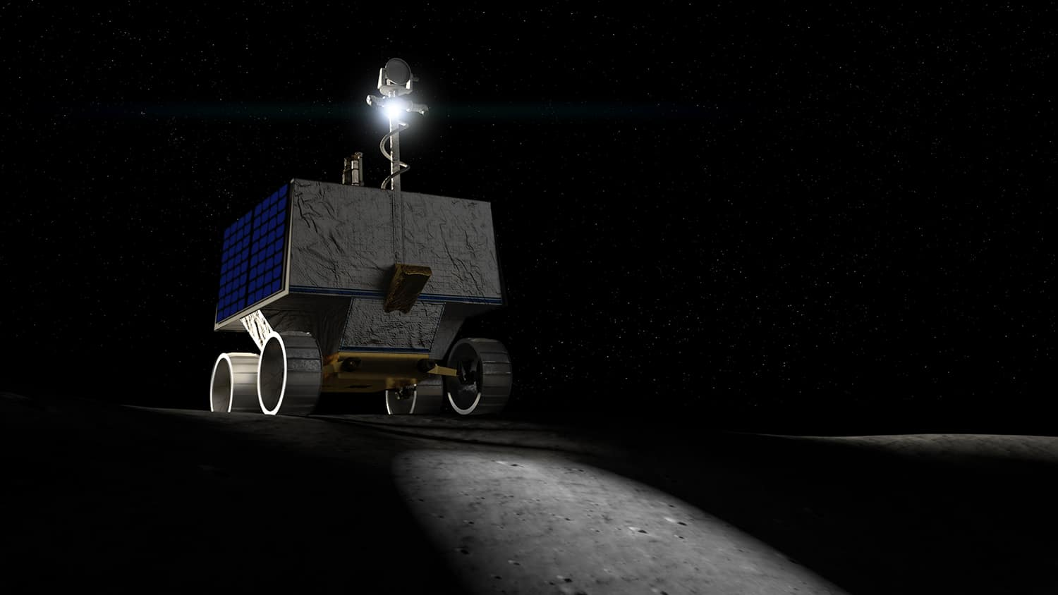NASA plans to send water-hunting robot to moon surface in 2022
