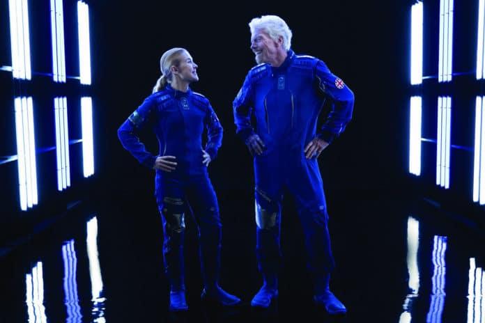 Virgin Galactic Spacewear Syatem.