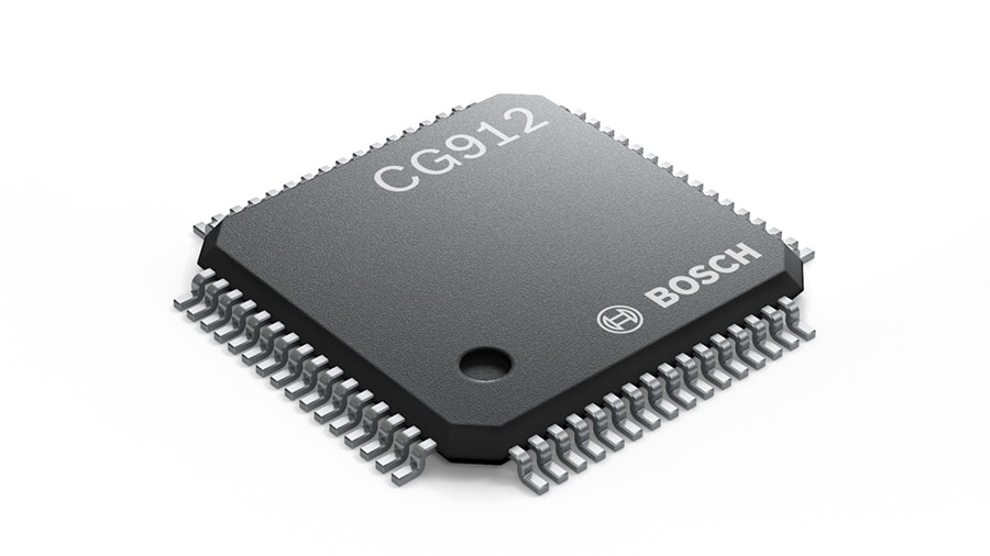 CG912 integrated restraint system IC from Bosch