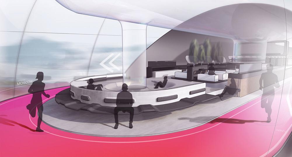 AeroSlider Luxurious Passenger Cabin