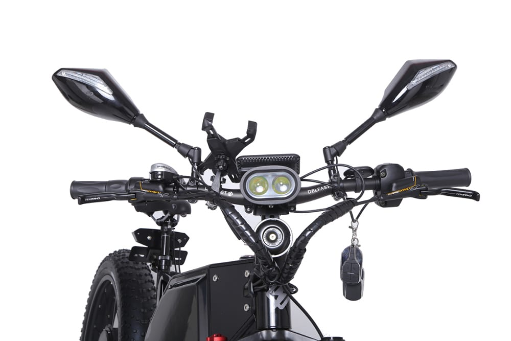 New Delfast Offroad electric bike capable of reaching 80