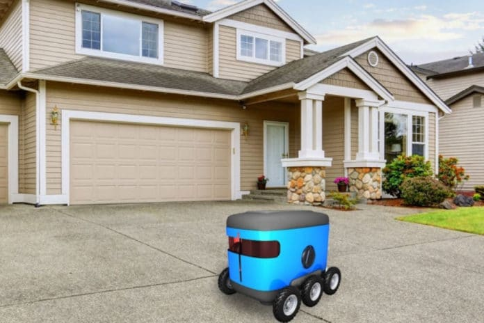 For last-mile delivery, robots of the future may use a new MIT algorithm to find the front door, using clues in their environment.