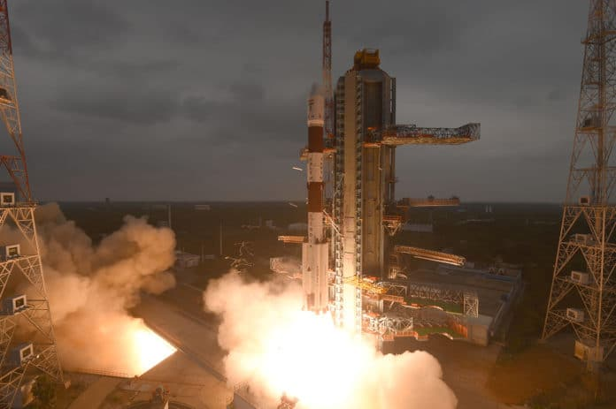 PSLV-C47 lifted-off