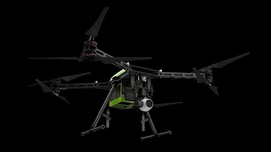 It comes 4K/30fps video camera, radio remote control, up to a range of 3 miles (4.8 km).