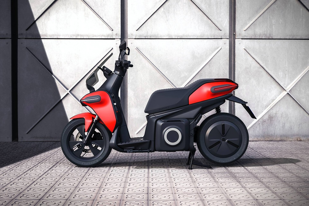 SEAT's 100% electric e-Scooter concept