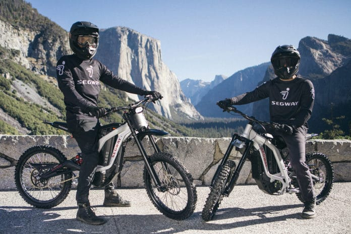 Segway launches its first electric dirt bikes.
