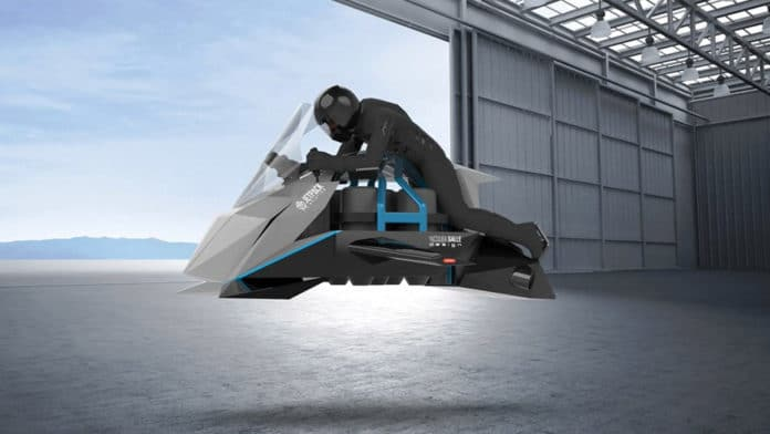 The Speeder - The world's first flying motorcycle