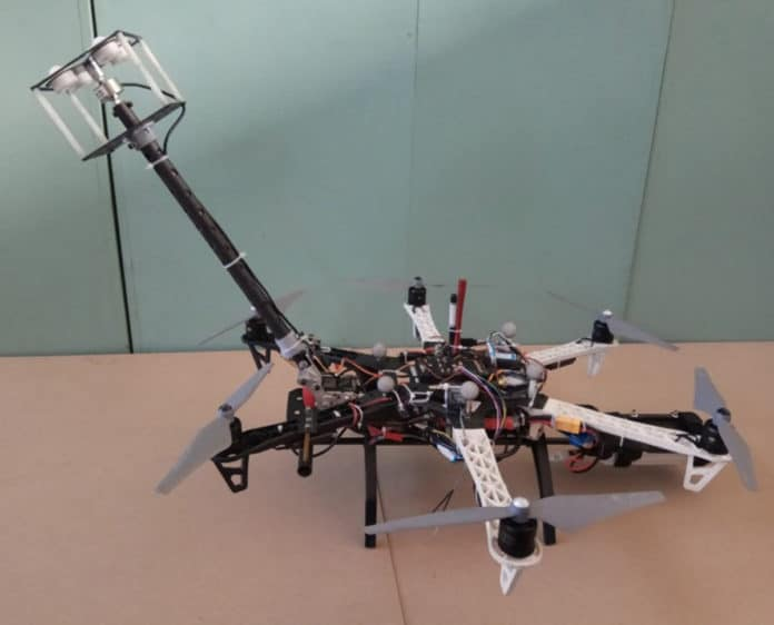 The contact aerial manipulator system. Credit: MENG Xiangdong