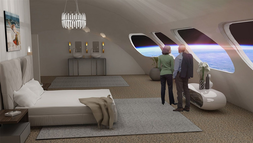 The first space hotel is designed to be a vacation destination and aims to feature some artificial gravity on board.