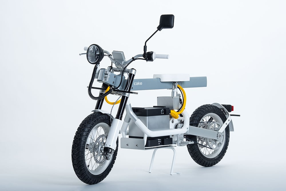 "The new two-wheeled multi-configuration Ösa looks like a ""walking toolbox""."