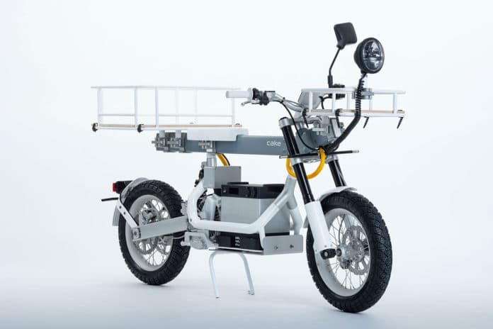 The Ösa+ is an electric and modular utility motorcycle with off-road capabilities