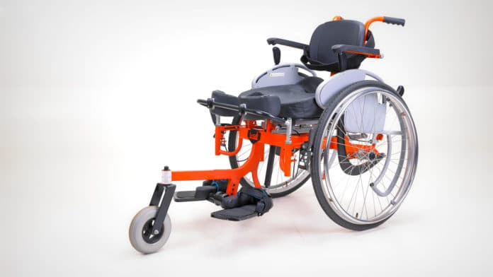 IIT Madras launches India's first 'standing wheelchair'.