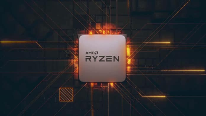 AMD Ryzen CPU.