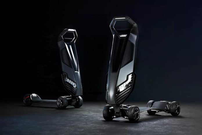 D-Fly introduced an electric 'Hyperscooter' called Dragonfly for $5000