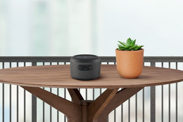Echo Input Portable Smart Speaker Edition - Carry Echo anywhere in your home. Credit: Amazon