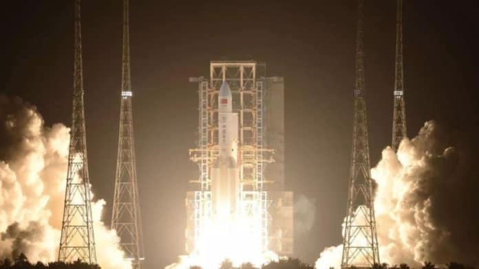 China successfully launches its largest carrier rocket Long March-5