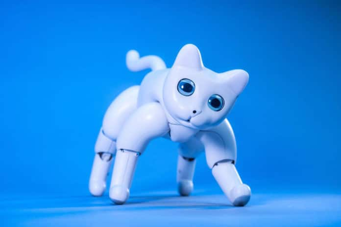 Meet MarsCat, an adorable robot cat for feline lovers