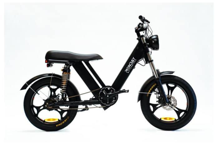 Monday Gateway electric moped