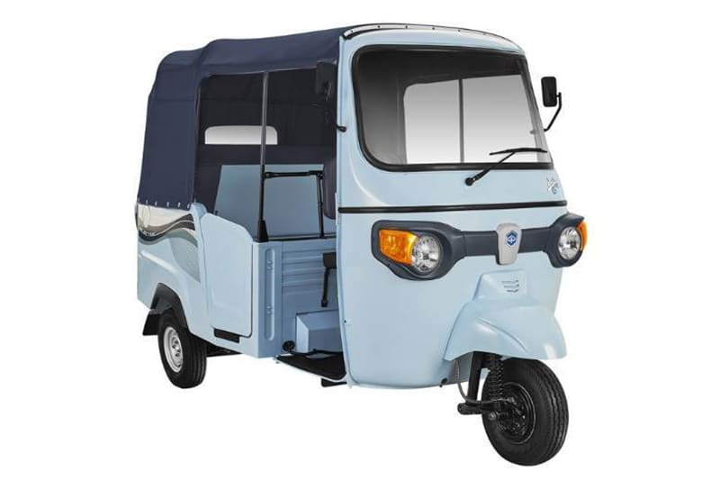 Piaggio presented its first electric tricycle the Ape E-City in India