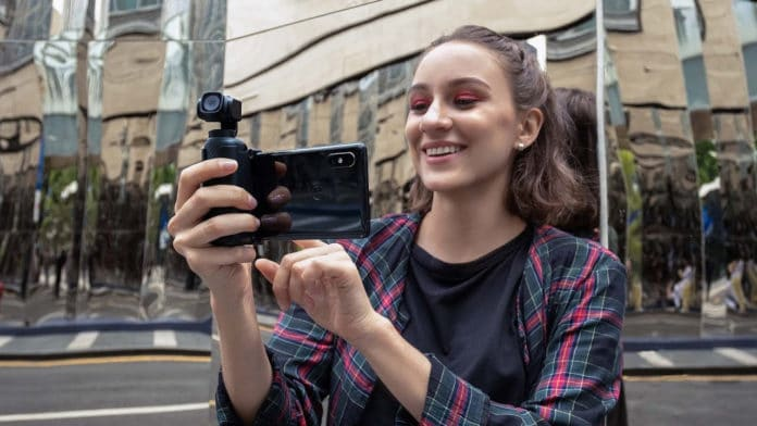 Snoppa Vmate: A high-performance 4K gimbal camera that fits in your pocket