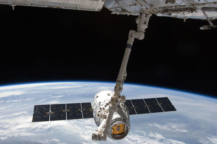 Dragon capsule delivers a floating robot and 'Mighty Mice' to ISS