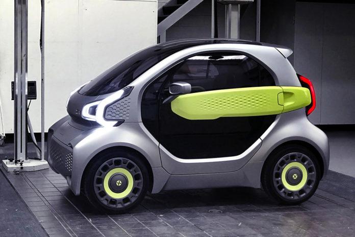 XEV YOYO, 3D Printed Electric Car.