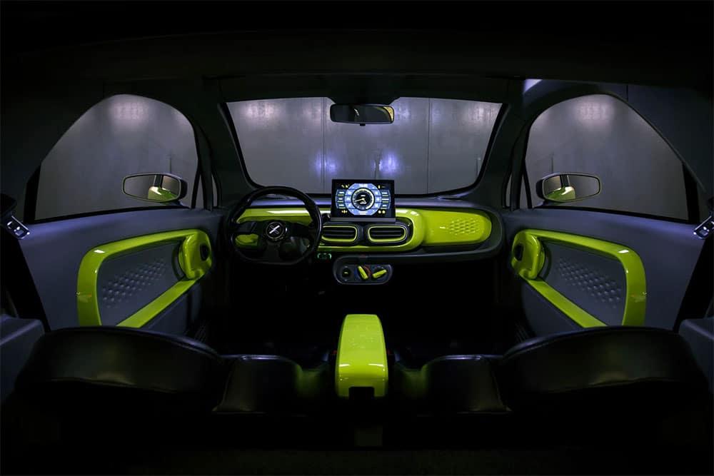 3D Printed Electric Car Interior