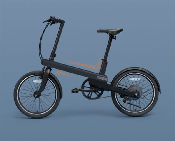 Xiaomi Qicycle, an updated e-bike with increased wheels and a range of 40km