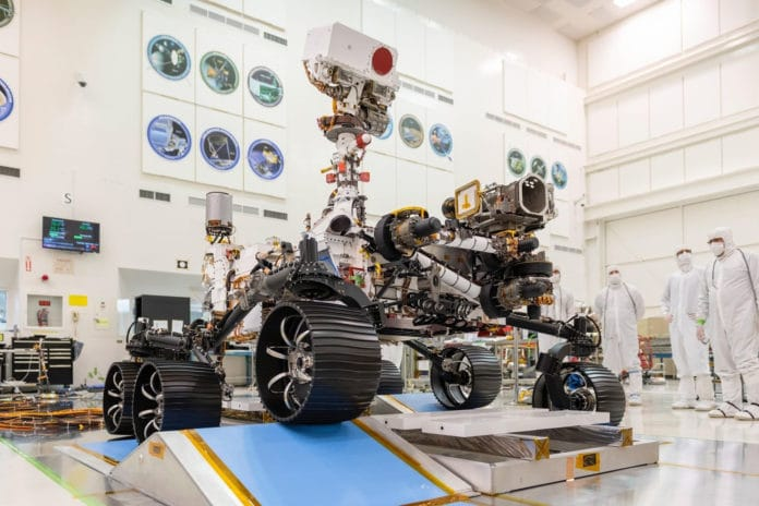 First drive test of NASA's Mars 2020 rover completes successfully