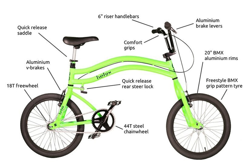 Helyx Bike Features