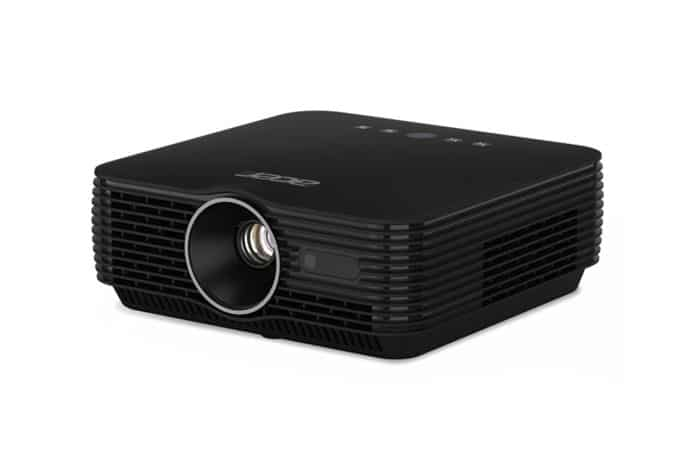 The Acer B250i is a Full HD portable LED projector with superb A/V quality and a compact design.