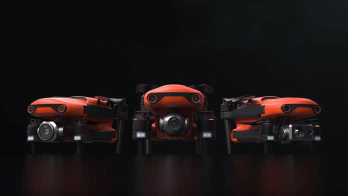 Autel EVO II, the foldable Drone with 8K camera, 40 minutes of flight. Credit: Autel Robotics