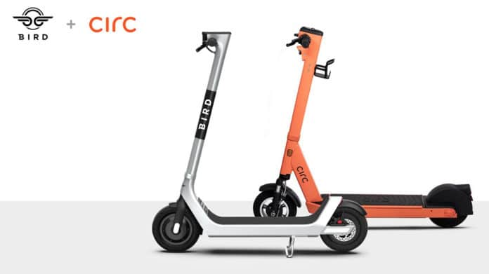 E-scooter giant Bird announces acquisition of its scooter rival Circ.