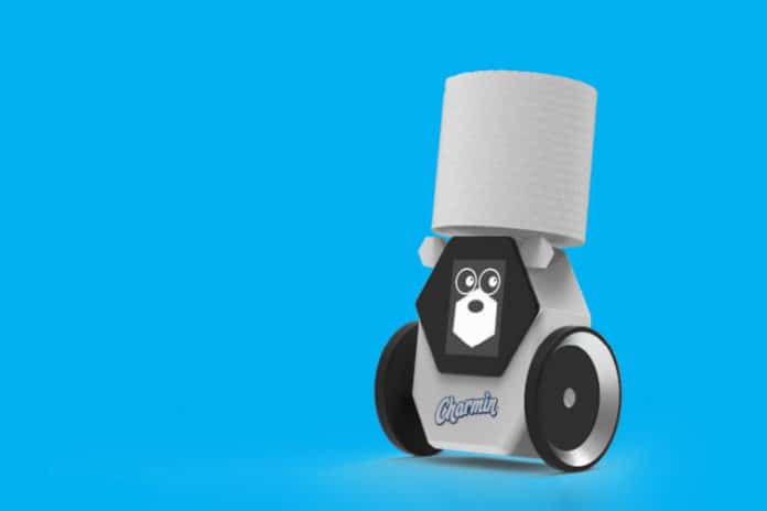Charmin's Rollbot will bring a new toilet paper roll when you need it most.