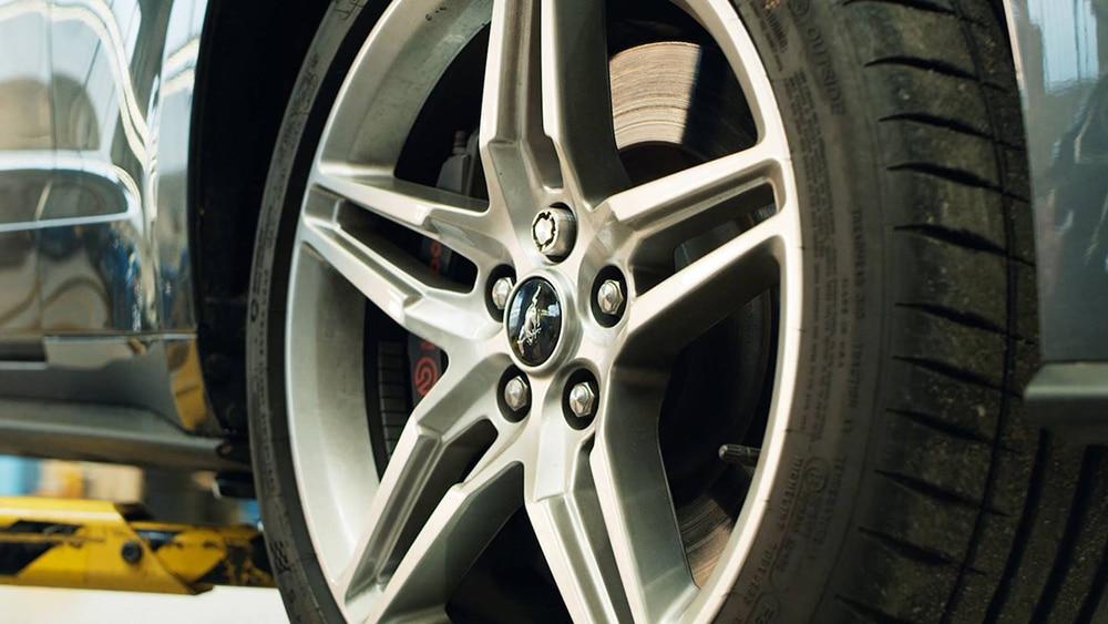 Unique wheel nuts designed using a driver's voice.